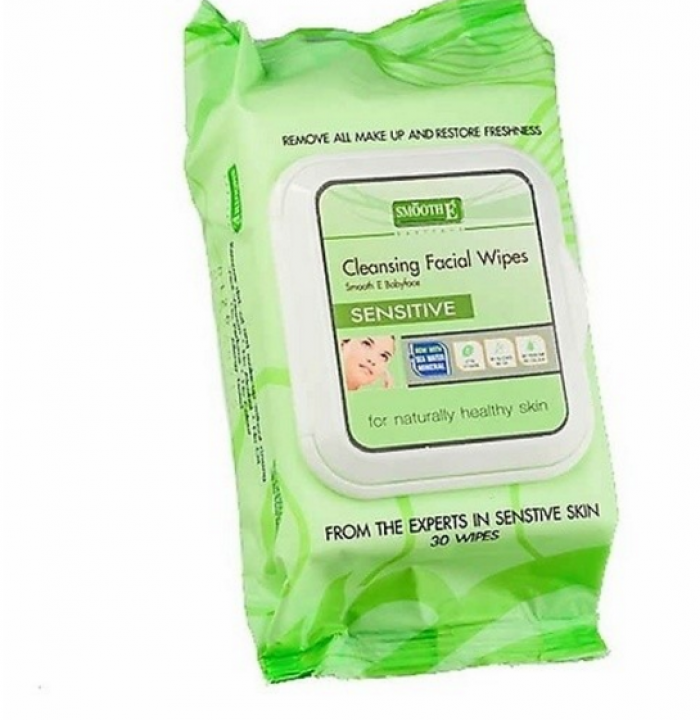 Simple Kind To Cleasing Facial Wipes Sensitive